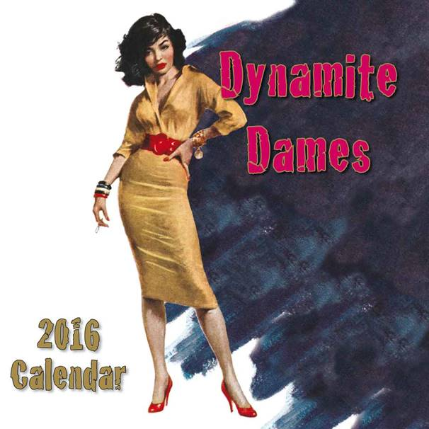Image result for dynamite dames calendar 2016